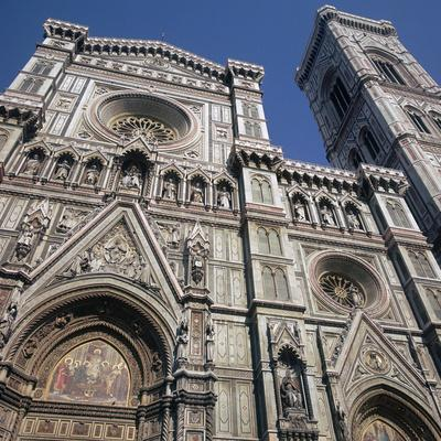 West Front of the Basilica Di Santa Maria Del Fiore, 14th-15th Century
