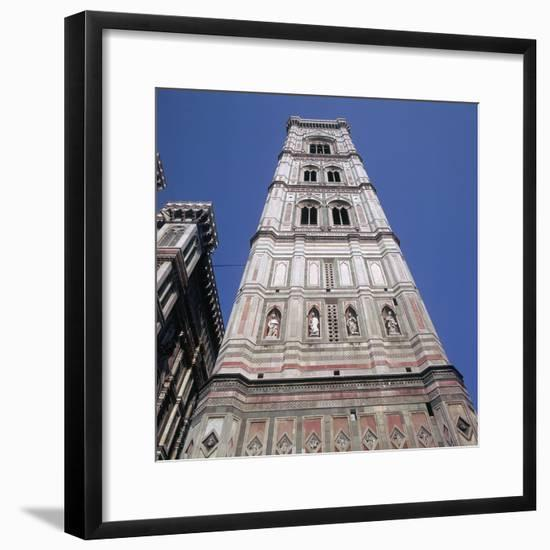 Giottos Tower in Florence Artist: Giotto-Giotto-Framed Photographic Print