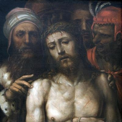 Christ Presented to the People: Ecco Homo (Detail)