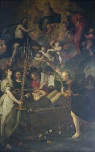 Death of Righteous by Giovanni Andrea De Ferrari