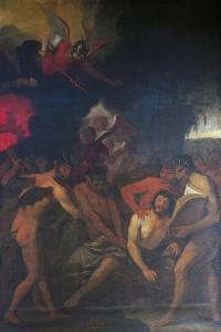 Death of Sinner, 1625-1630 by Giovanni Andrea De Ferrari