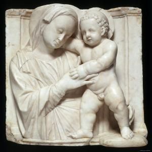 Sculpture of the Virgin and Child in Marble, c.1447-1522 by Giovanni Antonio Amadeo