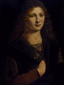 Portrait of a Young Man, Possibly Girolamo Casio, C.1500 by Giovanni Antonio Boltraffio