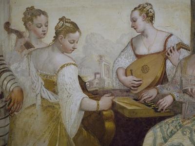 Musicians, Detail from Concert