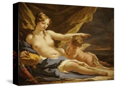 Venus and Cupid by Giovanni Antonio Pellegrini