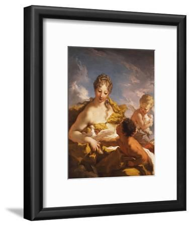 Venus, Cupid and a Faun