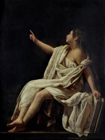 Polyhymnia, the Muse of Lyric Poetry, 1620