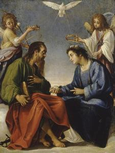 Saint Etienne and Paul Talking Crowned by Two Angels by Giovanni Baglione