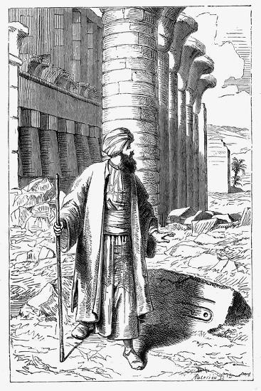Giovanni Battista Belzoni, Italian Explorer and Antiquity Seeker, C1860--Giclee Print
