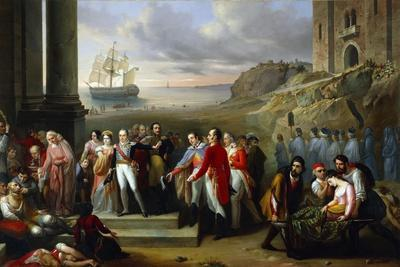King Charles Felix Refusing to Abandon Sardinia While Epidemic Continues to Rage, 1847