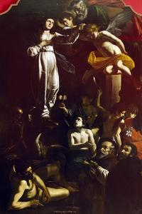 Immaculate Conception with St Dominic and St Francis of Paola by Giovanni Battista Caracciolo