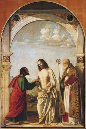 Doubting Thomas with Bishop Magno, 1505