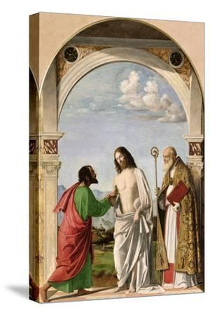 Doubting Thomas with St. Magnus, c.1504-05