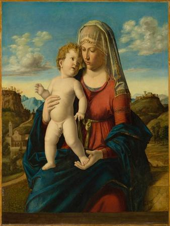 Madonna and Child in a Landscape, c.1496-1499