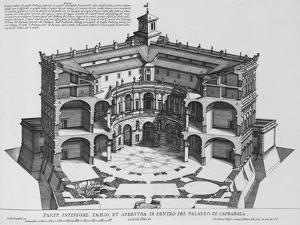 Palazzo Di Caprarola: the Garden of Rome by Giovanni Battista Falda