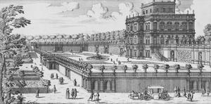 The Garden of Rome; Li Giardini Di Roma by Giovanni Battista Falda