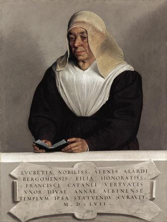 The Abbess Lucrezia Vertova Agliardi, c.1557