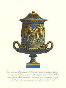 Blue Urn I by Giovanni Battista Piranesi