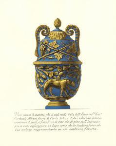 Blue Urn II by Giovanni Battista Piranesi