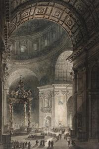 Illumination of the Cross in St. Peter's on Good Friday, 1787 by Giovanni Battista Piranesi