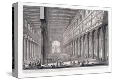 Interior of St. Paul's Basilica Outside the Walls, 1753-1837