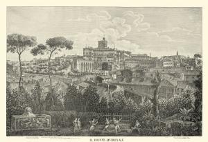 Piranesi View of Rome I natural by Giovanni Battista Piranesi