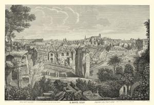 Piranesi View of Rome II natural by Giovanni Battista Piranesi