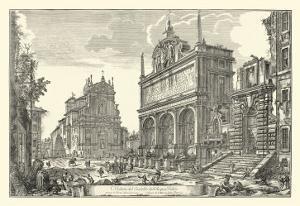 Piranesi View of Rome III natural by Giovanni Battista Piranesi