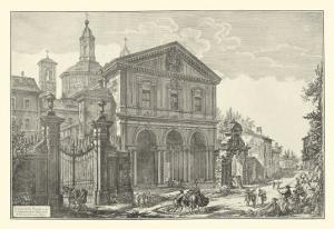 Piranesi View of Rome IV natural by Giovanni Battista Piranesi