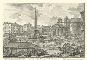 Piranesi View of Rome V natural by Giovanni Battista Piranesi