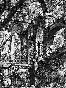 Prisons of Invention by Giovanni Battista Piranesi