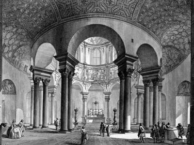 The Interior of Santa Costanza, from the 'Views of Rome' Series, 1758 by Giovanni Battista Piranesi