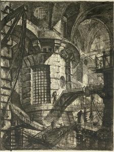 The Prisons by Giovanni Battista Piranesi