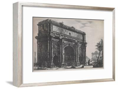 View of the Arch of Septimus Severus, 1772