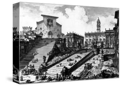 View of the Capitoline Hill, from the 'Views of Rome' Series, C.1760