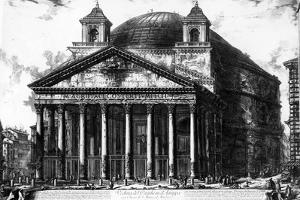 View of the Pantheon, from the 'Views of Rome' Series, C.1760 by Giovanni Battista Piranesi