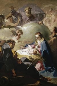 Nativity by Giovanni Battista Pittoni