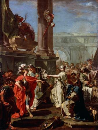 The Sacrifice of Polyxena, 1730s