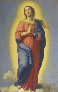 Immaculate Conception by Giovanni Battista Salvi da Sassoferrato