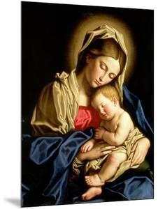 Madonna and Child by Giovanni Battista Salvi da Sassoferrato