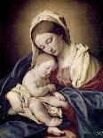 Madonna and Child-Giovanni Battista Salvi da Sassoferrato-Premier Image Canvas