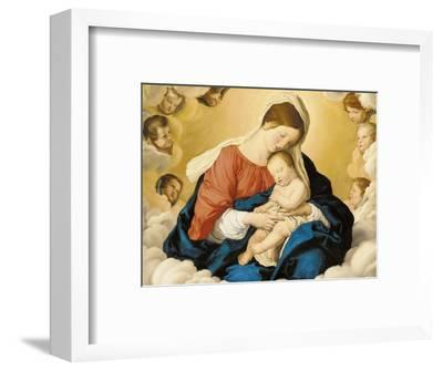 The Madonna and Child in Glory with Cherubs