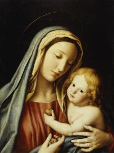 The Madonna and Child by Giovanni Battista Salvi da Sassoferrato