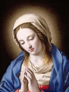The Madonna Praying by Giovanni Battista Salvi da Sassoferrato