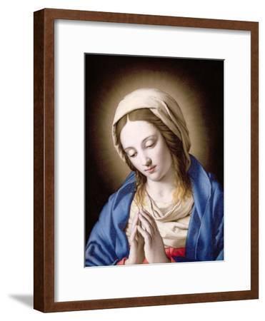 The Madonna Praying