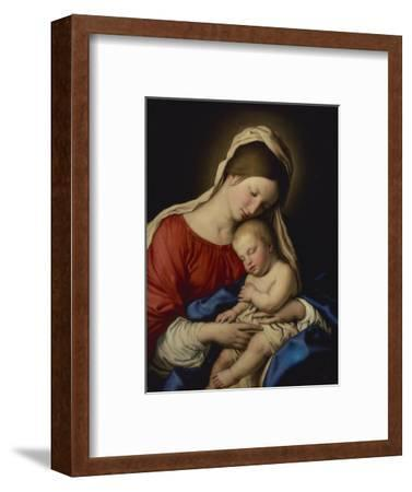 The Madonna with the Sleeping Christ Child