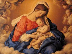 The Sleep of the Infant Jesus by Giovanni Battista Salvi da Sassoferrato