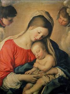 The Sleeping Christ Child by Giovanni Battista Salvi da Sassoferrato