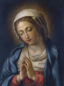 The Virgin at Prayer by Giovanni Battista Salvi da Sassoferrato