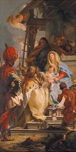 Adoration of the Magi, 1753 by Giovanni Battista Tiepolo